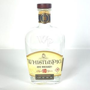 Whistle Pig Whiskey Strength Rye 10 Year Old Empty